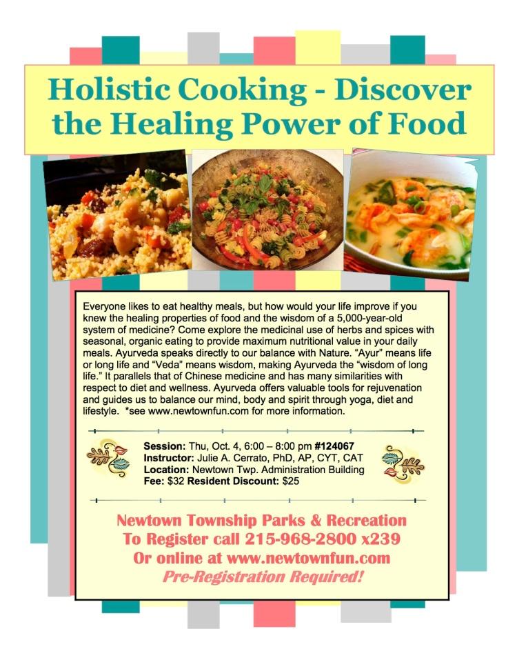 Cooking Newtown 9-28-2012