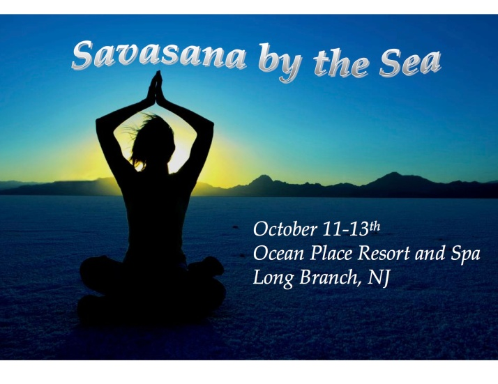 Savasana by sea 1